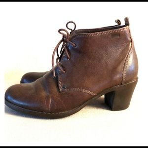Camper brown leather boot 39